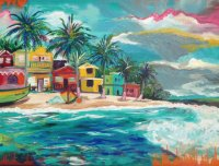 Carribean Beach by Shannon McIntyre
