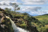 Waterfall Fintry Scotland