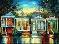 Houses in New Orleans  by Diane Millsap