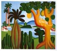 Resting in a Tree by Tarsila do Amaral