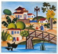 Village by Tarsila do Amaral
