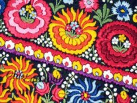 Hungarian matyó embroidery