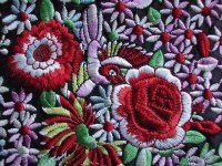 Embroidery from Poland