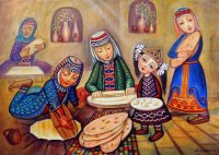 At the Bakery by Sevada Grigoryan  Armenia
