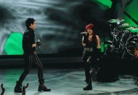 Adam Lambert And Allison Iraheta Slow Ride