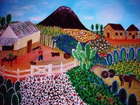 Mexican Farm by Pristine Cartera