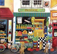 Vegetable Shop by Claire Laliberta