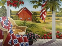 American Patchwork by Claire Laliberte