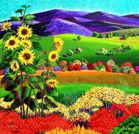 Sunflowers by Gene Brown