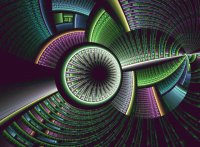 Technical Fractal by Katt Vinge