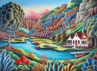 House in the Mountains  by Andy Russell