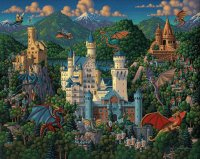 Imaginary Dragons and Castle Neuschwanstein