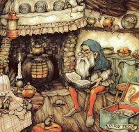 Story teller by Anton Pieck