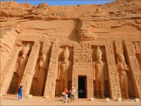 The temple of nefertari