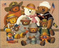 Honey Bear Family