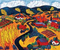 Road into the Mountains by Barbara Gurwitz