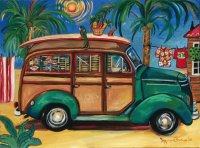 Bahamas Bus by Suzanne Etienne