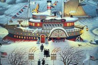 Seven Sailors Restaurant by Charles Wysocki