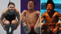 Funny Diver Faces - Olympic Games 2012