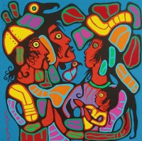Native art by Norval Morrisseau