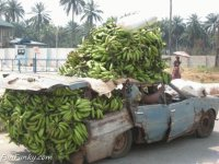 Banana transportation in Africa