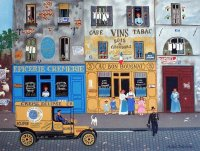 French Shops by Michel Delacroix