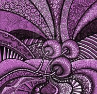 Purple art