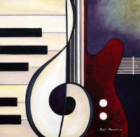 Guitar Piano duet by Kristin Morris