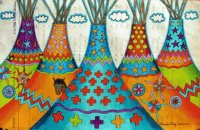 Tipi 's by Dolores Purdy Corcoran