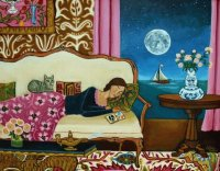 After Lunch nap  by Catherine Nolin