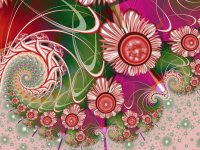 Pink and Green fractal