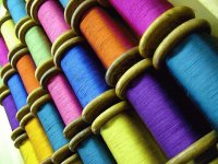 Beautiful silk Thread