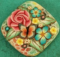 Square Focal Bead