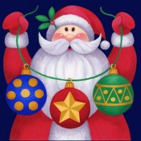 Santa Claus with Chrismas Ball 's