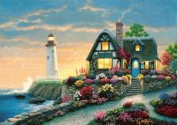 House at the Seaside by Richard Burns