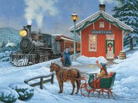 Home for Christmas by John Sloane