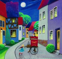 Street Music by Iwona Lifsches