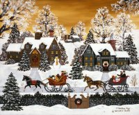 Christmas in the USA by Jane Wooster Scott