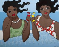 Happy Hour on the Beach by Trudie Canwood