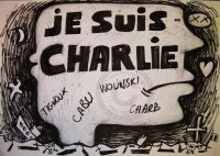 JE SUIS CHARLIE  by Bruno Thouret
