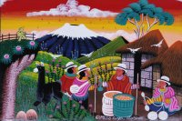 Farmers at Work Ecuador by Olmedo Cayo
