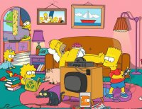Day in Simpson 's House