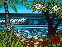 Hawaiian Shore by Heather Brown