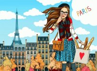 I love Paris by Anna Lazareva