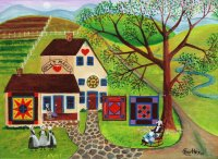 Amish Country Quilts by Cheryl Bartley
