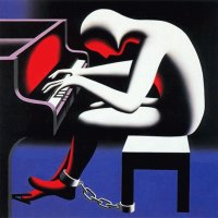 Playing Piano by Mark Kostabi