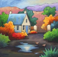 Cottage by Gillian Mowbray