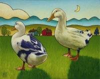 Duck Family by Stacey Neumiller