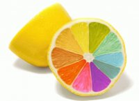 rainbow lemon