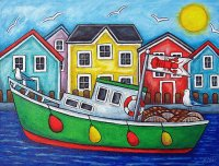 Lobster Vessel by Lisa Lorenz